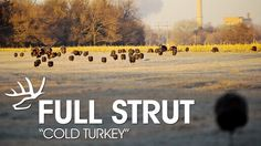 "In the pilot episode of ""Full Strut,"" the Heartland Bowhunter crew is setting up to bow hunt turkey in the frigid temperatures of Nebraska."