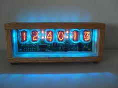Six Digit Nixie Tube Clock The Nixie Arcobaleno