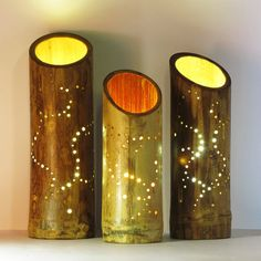 Bamboo lamp with flower pattern from @Bamboozledesign https://www.etsy.com/listing/223556704/lamp-bamboo-bedside-light-with-flower?ref=listing-shop-header-0