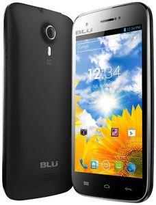 Blu - Studio 5.0 Cell Phone (Unlocked) - Black