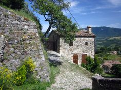 Petrella Guidi is a medieval village and historical hideaway in Italy. Ancient medieval architecture, beautiful gardens