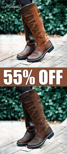 Women Non-slip Outdoor Boots Waterproof Low Heel Paneled Boots Winter Shoes, Winter Wear, 2016 Winter, Dress Winter, Slip On Boots, Shoe Boots, Cute Shoes, Me Too Shoes, Warm Snow Boots