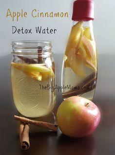 Apple Cinnamon Detox Water - The Best Natural Detox Drink