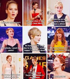 This is why we appreciate her - because she's a normal, hilarious, awkward human being who happens to be wickedly talented.