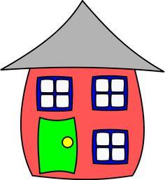 59 fantastiche immagini in houses su pinterest cartoon house rh pinterest com house clip art images png home clip art images rustic