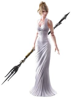 FINAL FANTASY XV PLAY ARTS KAI LUNAFREYA NOX FLEURET (C: 1-1