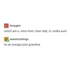 orange juice grandma