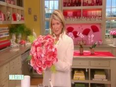 How to Make Cupcake Wrapper Flowers Videos | Tv How to's and ideas | Martha Stewart