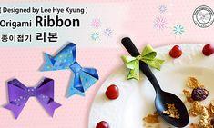 리본 종이접기 도안, 종이접기 리본 만드는방법, 리본 종이접기 설명서, 종이접기 리본, Origami Ribbon Tutorial by 이혜경(Ldee Hye Kyung) : 네이버 블로그 Origami Ribbon, Origami Rose, Paper Ribbon, Origami Diagrams, Toned Paper, Design, Flower, Activities, Kids