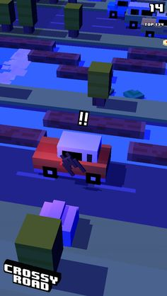 Crossy Road is so unrealistic that when u have the vampire and it turns into a bat the wings keep flapping when u hit a car!