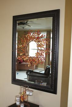 Revamp a mirror or other objects with Rust-Oleum Oil Rubbed Bronze Spray Paint - gotta try this!