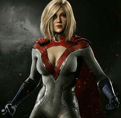 #injustice2 #powergirl