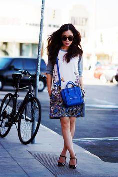 146aa6a2b2cb HallieSwanson Paul   Joe Sister Knit Dress Celine Bag MiuMiu Shoes 5  Fashion For Petite Women