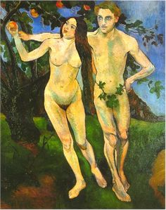 "Suzanne Valadon, ""Adam and Eve,"" 1909"
