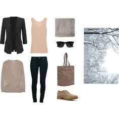 Winter Pastels by hii-live on Polyvore