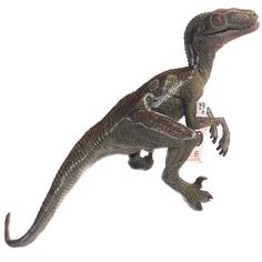 Velociraptor Plastic Toy   Dinosaur Toy   Papo Toy Figures