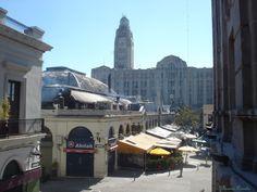 Mercado del Puerto (foto tomada desde un atelier)