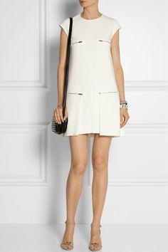 Stella McCartney|Gisella stretch-cady mini dress|NET-A-PORTER.COM