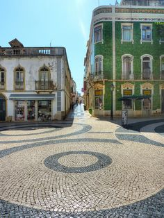 Lagos  Portugal.  It has amazing brickwork.  We rented an apartment for 2 weeks and used it as home base while we explored.