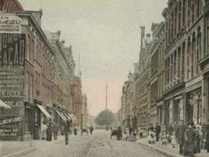 Winkels in de Piet Heinstraat in Den Haag van 1900 tot 1909