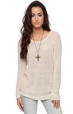 LA Hearts Marled Raglan Pullover Sweater at PacSun.com