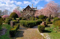 Rose Garden, C.W. Post Campus, Long Island University, Brookville, NY