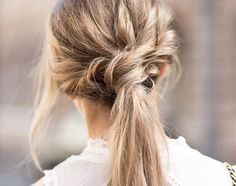 Fun ponytail. @thecoveteur