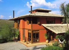 Resultado de imagem para casas rusticas estilo toscana
