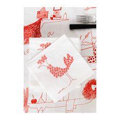 ÖNSKEDRÖM Papírové ubrousky  - IKEA