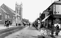 Photo of Bishop Auckland, South Road 1914 - Francis Frith - Wesley Methodist Church, Newgate Street.