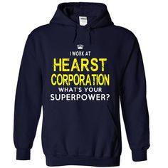 I WORK AT HEARST CORPORATION WHATS YOUR SUPER POWER ? HOODIE  This shirt is for you! Tshirt, Women Tee and Hoodie are available. 👕 GET YOUR here: https://www.sunfrog.com/I-work-at-HEARST-CORPORATION-What-NavyBlue-Hoodie.html?id=57545