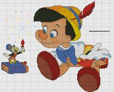 Pinocchio &  Jimny Cricket  1 of 2