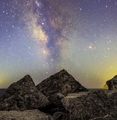 """The Milky Way in """"daylight""""."""