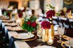 Katie and Albert's wedding-Garden Gate Florals-Orlando-Shipra Panosian Photography. #burgundynavygoldweddings