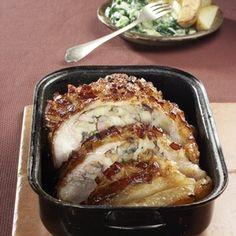 Plněný bůček Bucky, French Toast, Pork, Meat, Breakfast, Kale Stir Fry, Morning Coffee, Pork Chops
