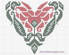 Мои творилки *** Aliolka design: три сердечка