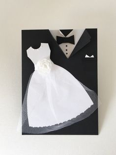 Wedding Card Mr and Mrs Bride and Groom Congratulations