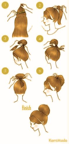 10 of The Most Easiest Hairstyle That You Can Do In 3-Minutes!