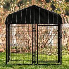 Archie & Oscar™ Abigail Steel Yard Kennel & Reviews | Wayfair Wire Dog Kennel, Dog Kennels, Metal Dog Cage, Dog Pen, Pet Resort, Expanded Metal, Dog Cages, Pet Gate, Outdoor Dog