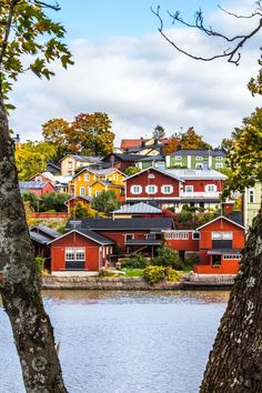 Porvoo, Finland The ultimate Scandinavian houses: wooden and red. Helsinki, Places To Travel, Places To See, Wonderful Places, Beautiful Places, Saint Marin, Places Around The World, Around The Worlds, Norway Sweden Finland