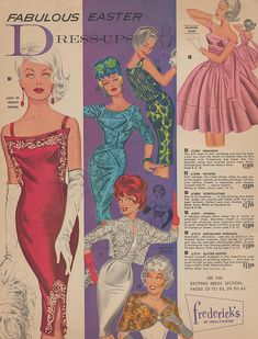 Spring 1962 Frederick's of Hollywood catalog.