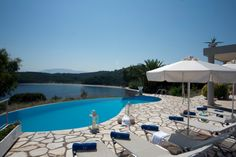 Corfu Hotels, Green Scenery, Corfu Island, More, Georgia, Villa, Beach, Outdoor Decor, Seaside