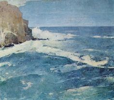 Emil Carlsen Coast of Maine (also called Summer Day, Coast of Maine, and Low Tide?), c.1923)