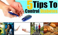 5 Tips for taking control Diabetes