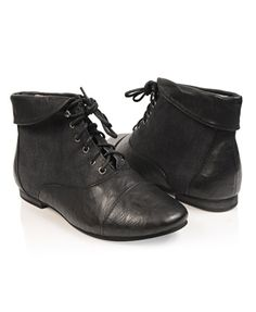 Fold Over Ankle Boots - Shoes - 2081257837 - Forever21 - StyleSays