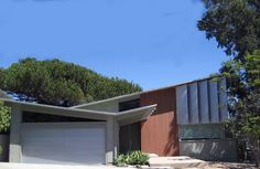 Los Angeles Ranch House exterior facade (article has many ideas for addition/expansion).
