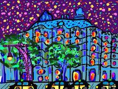 Ilustración La Pedrera, Gaudí!!