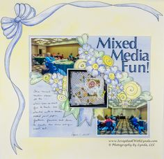 Banners are a great addition to any scrapbook layout, card or craft project. Drawing banners and painted them is easy and this post will show you how.