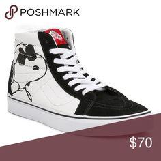 babb1c44ba6c23 Shop Women s Vans size Sneakers at a discounted price at Poshmark. Joe  CoolVans Sk8 Hi ReissuePeanutsVans ShoesShoes ...