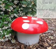 Image result for toadstool stool childrens